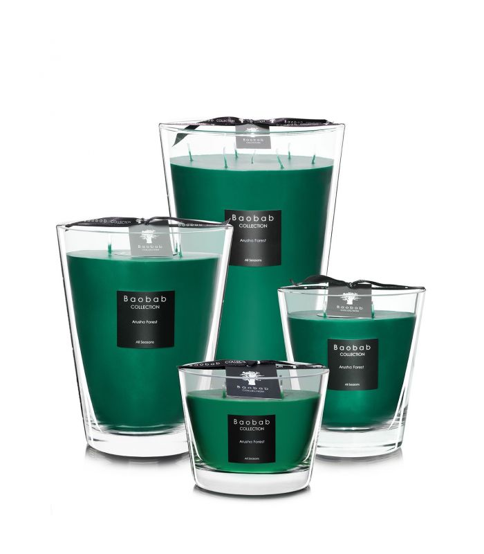 Bougies Parfumees Baobab Collection - Arusha Forest