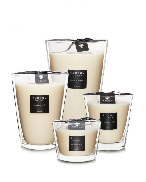 Scented Candles Baobab Collection - Madagascar Vanilla