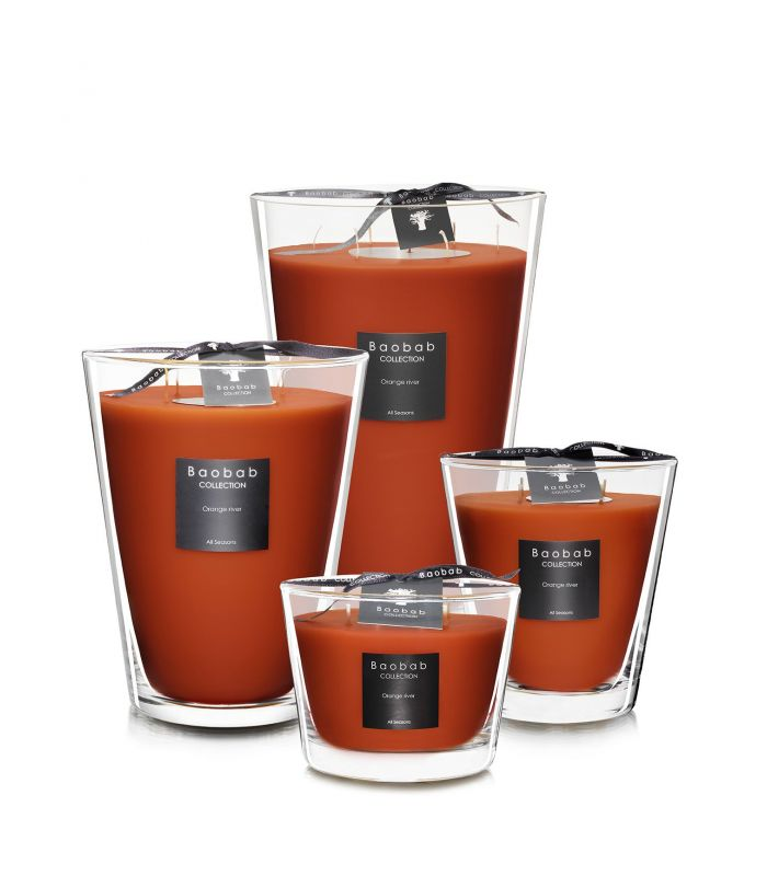 Scented Candles Baobab Collection - Orange River