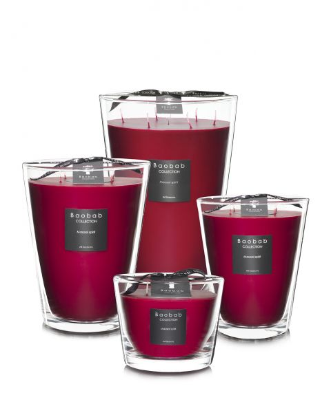 Scented Candles Baobab Collection - Masaai Spirit