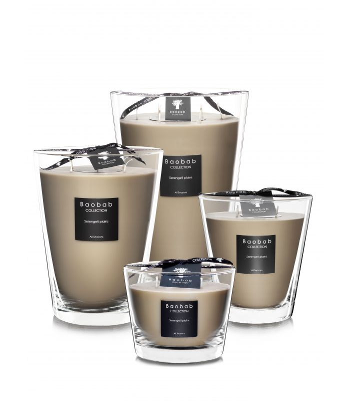 Bougies Parfumees Baobab Collection - Serengeti Plains