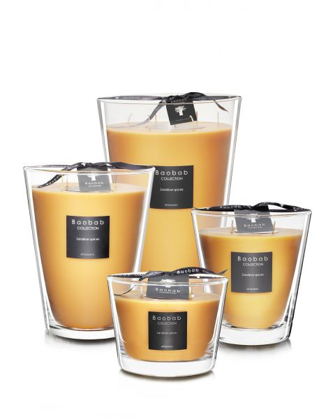 Scented Candles Baobab Collection - Zanzibar Spices