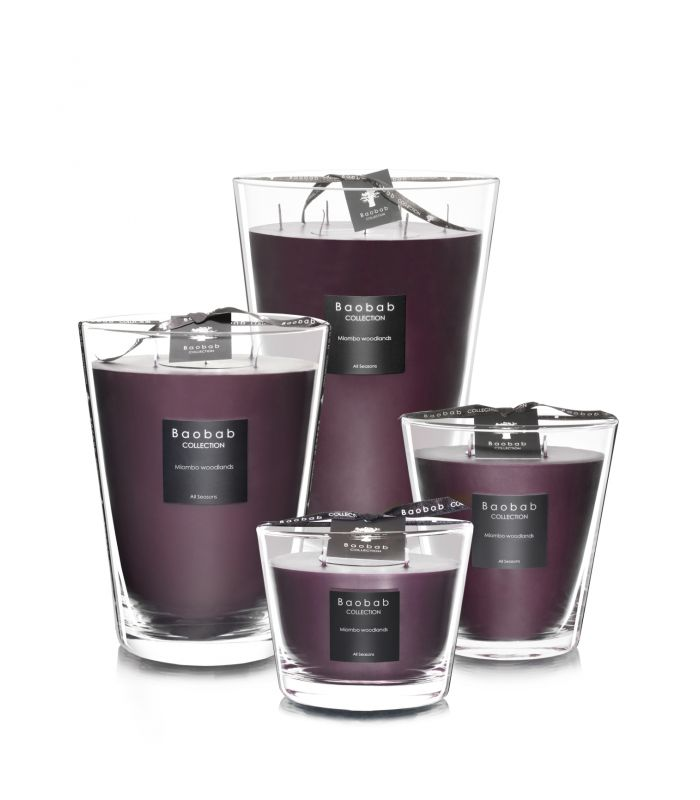 Scented Candles Baobab Collection - Miombo Woodlands