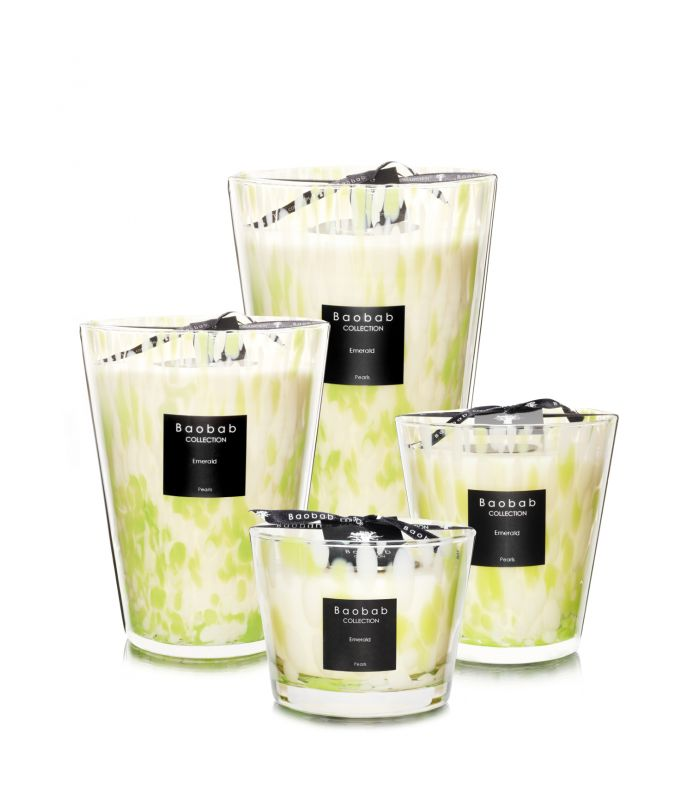 Bougies Parfumees Baobab Collection - Emerald Pearls