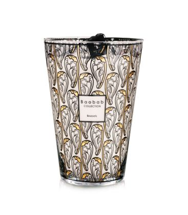 Vela perfumada por Baobab Collection - Brussels Art Nouveau