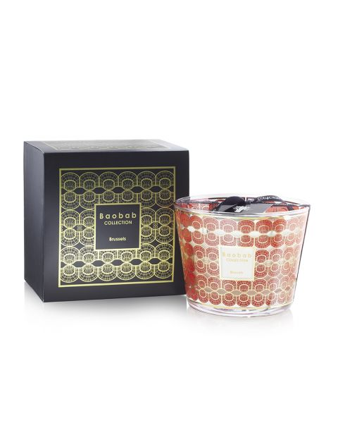 Bougie Parfumée par Baobab Collection - Christmas in Brussels