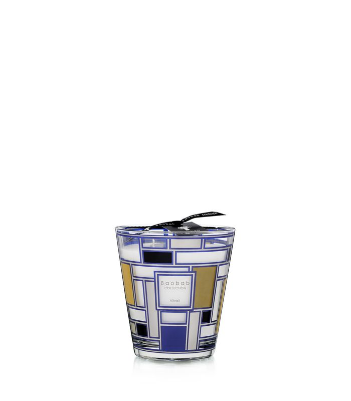 Baobab Collection Vitrail Scented Candles - Vitrail Silver