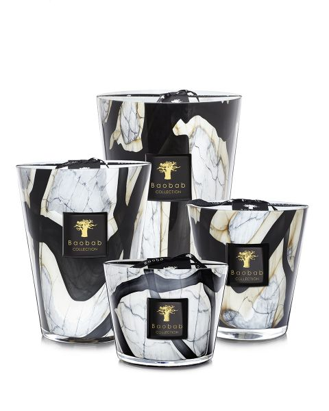 Baobab Collection Stones Scented Candles - Marble