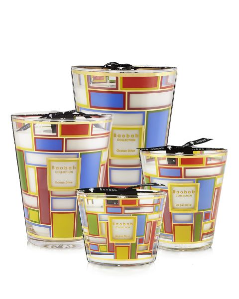 Baobab Collection Cities Scented Candles - Ocean Drive