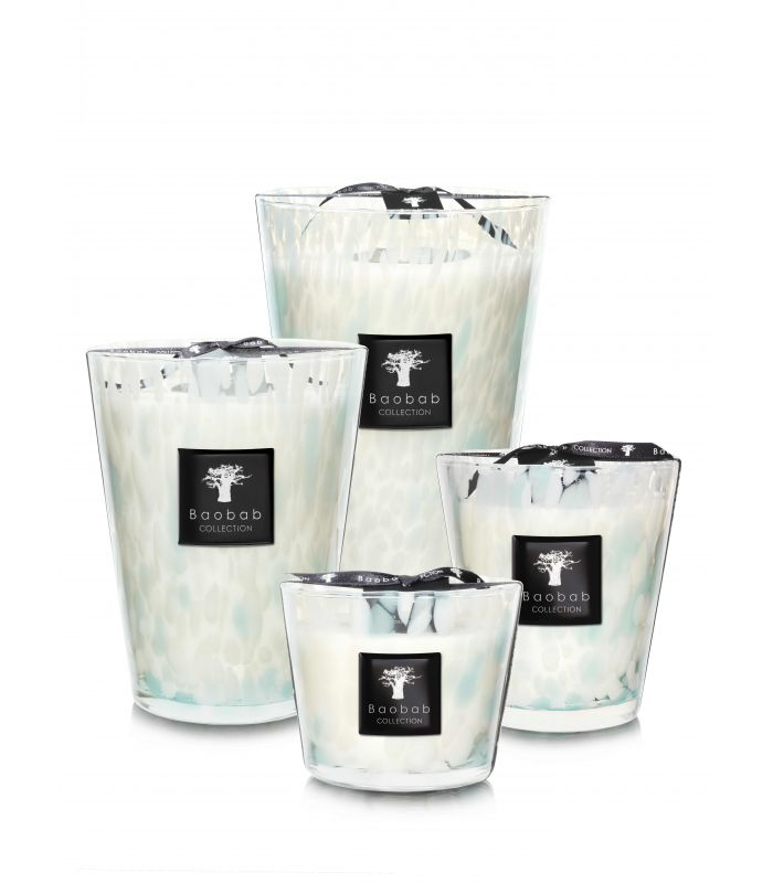 Baobab Collection Pearls Scented candles - Sapphire Pearls