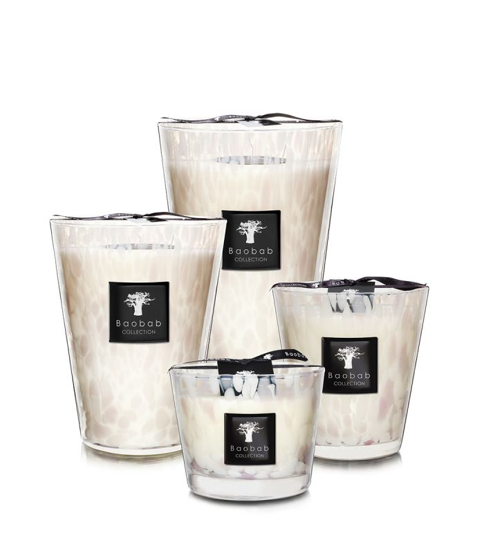 White Pearls - Bougies Parfumées | Baobab Collection