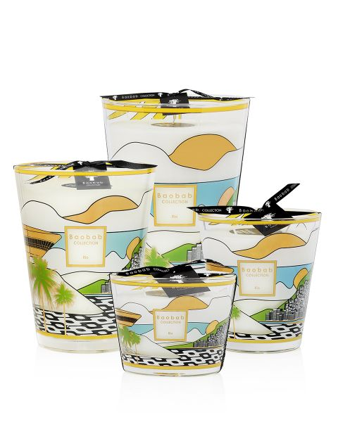 Cities - Rio - Scented Candles   Baobab Collection