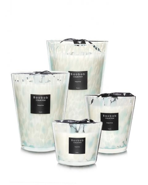 Scented Candles Baobab Collection - Sapphire Pearls