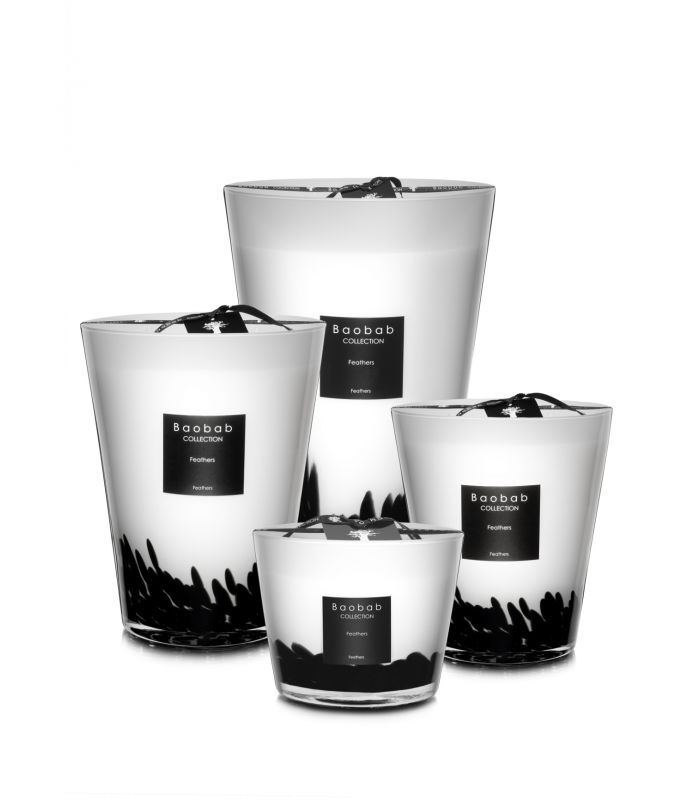 Scented Candles Baobab Collection - Feathers