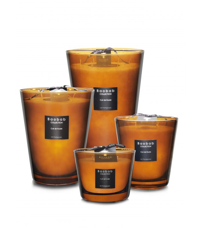 Scented Candles Baobab Collection - Cuir de Russie