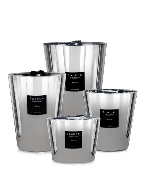 Baobab Collection scented candles - Platinum