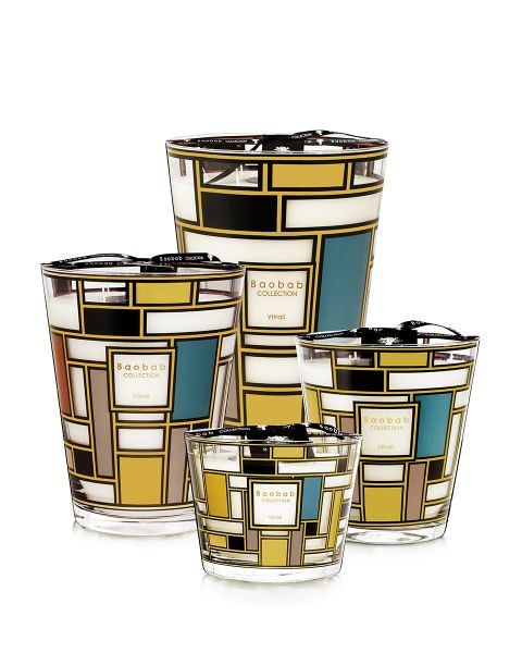 Baobab Collection Vitrail Scented Candles - Vitrail Gold